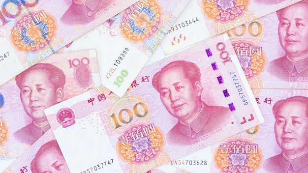 Китайская бумажная валюта юань юань банкноты банкноты