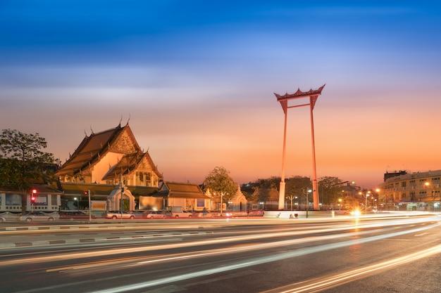 Бангкок красный качели, икона бангкока, таиланд