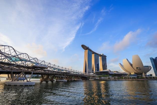 シンガポール市の街並み