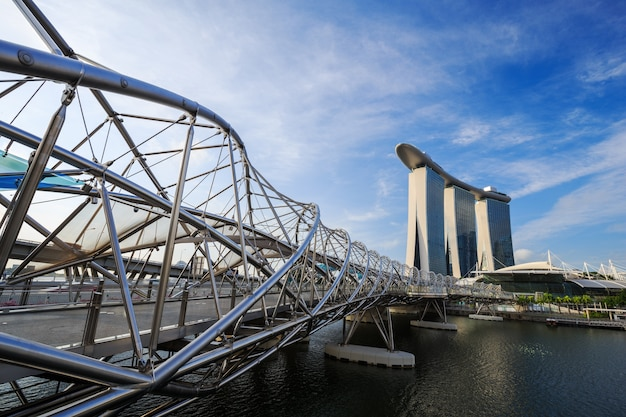シンガポールの都市景観、ヘリックス橋