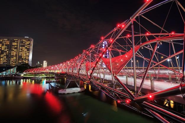 Спиральный мост, сингапур