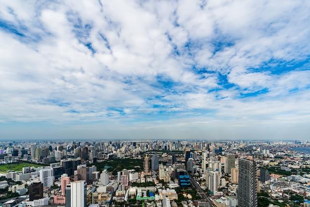 Бангкок городской пейзаж в таиланде