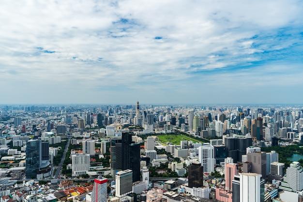 タイのバンコク都市景観