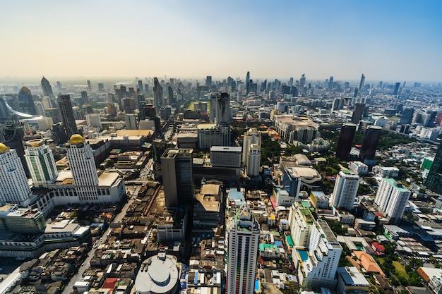 Бангкок город городской горизонт таиланда, городской пейзаж