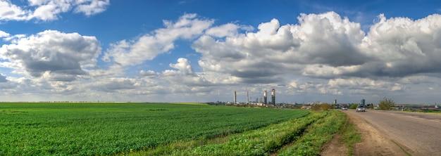 ウクライナのオデッサ港工場