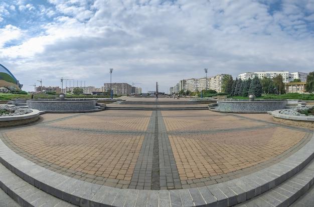 Памятник героям второй мировой войны в городе южный, украина