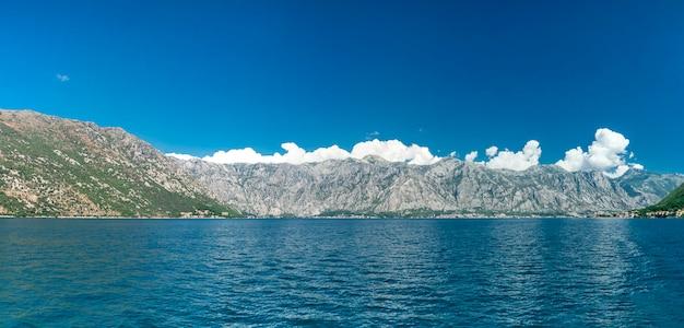 Панорамный вид на пераст, черногория