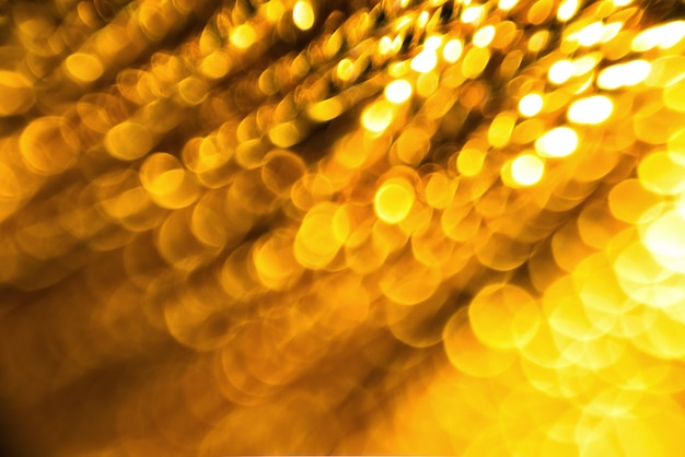Боке золотой фон