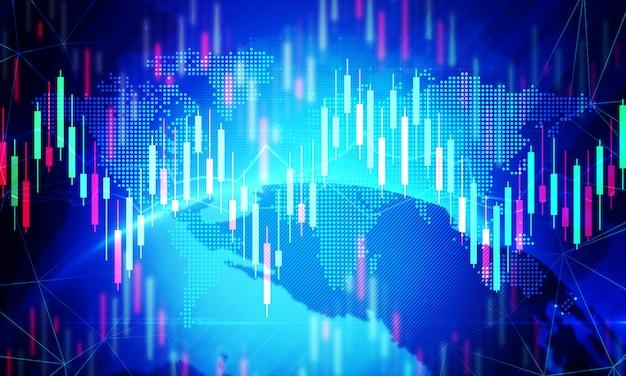 デジタル株式市場の取引の背景