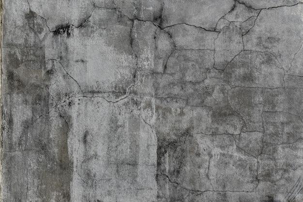 Гранж бетонная стена с трещинами и пятнами. текстура цемента для дизайна и фона.