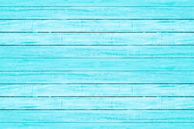 Яркий светло-голубой цвет текстуры древесины доски. старинный пляж деревянный фон.