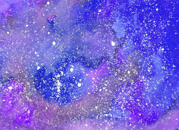 抽象的な水彩の背景。手描きのイラスト
