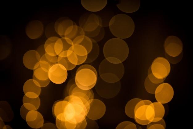 Боке огни. красивый рождественский свет