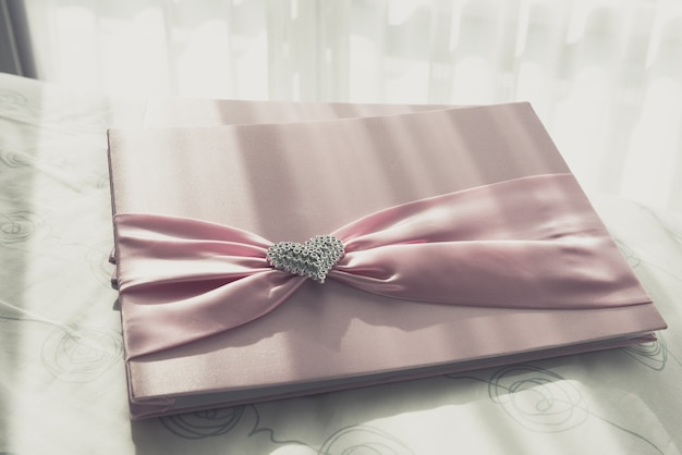 結婚式のゲストブック