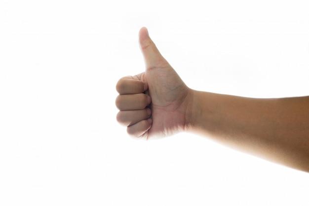 Рука с большим пальцем вверх