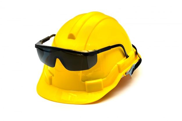 目の保護具またはゴーグル絶縁型ヘルメット
