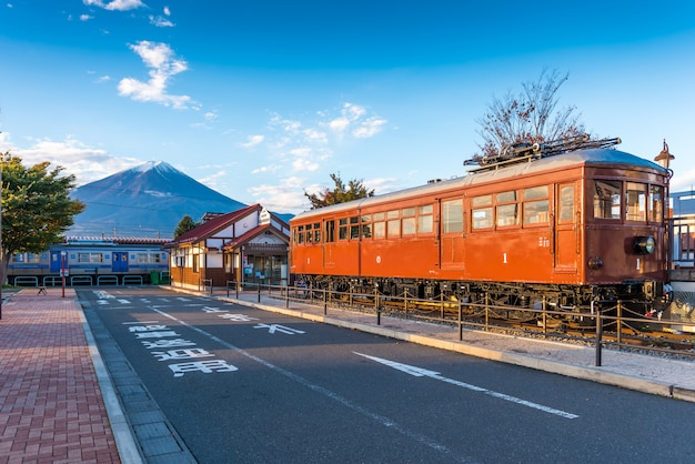 富士河口湖の河口湖駅
