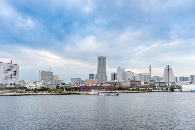 横浜、日本のスカイライン