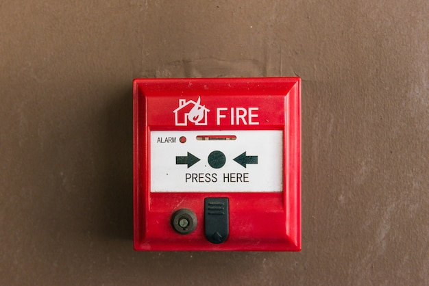 Выключатель пожарной сигнализации