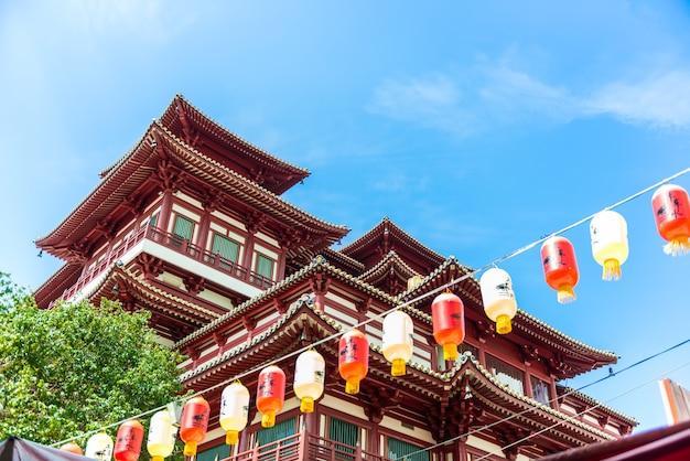 シンガポールチャイナタウンの仏教遺跡