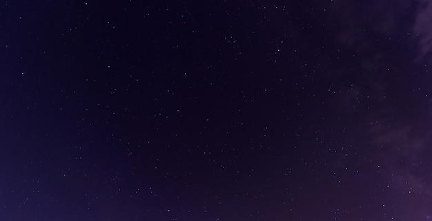 宇宙天の川銀河を示すカラフルなスペースショット