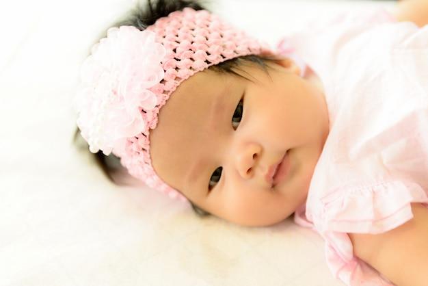 アジアの女の赤ちゃん