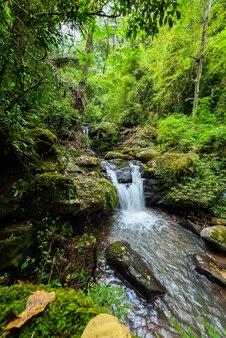 Природный ландшафт сапанского водопада у села сапан боклуаского района