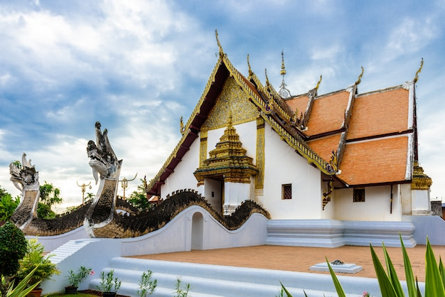 Ват фумин, район муанг, провинция нан, таиланд.