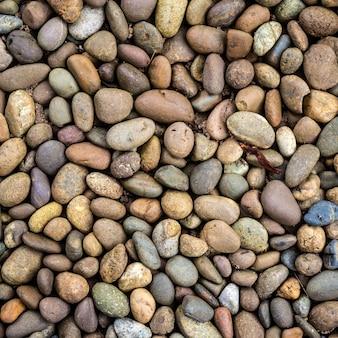 小石の石の背景