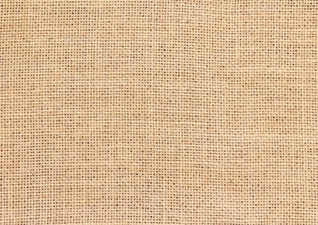 黄麻布の背景とテクスチャ