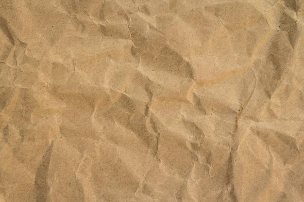 茶色のしわリサイクル紙の背景