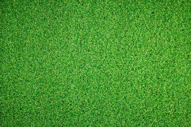 人工の緑の草のテクスチャ背景