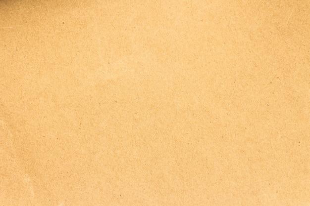 茶色の紙箱または段ボール紙のテクスチャ