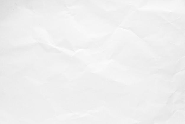 白いしわリサイクル紙の背景