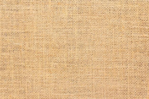 黄麻布の背景とテクスチャー