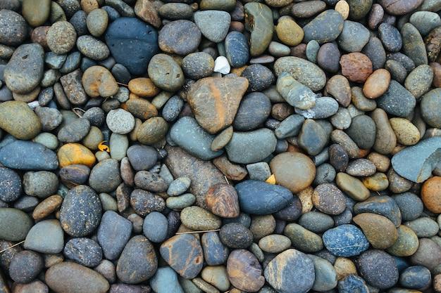 Галька каменный фон