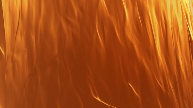 オレンジイエローゴールドの背景。