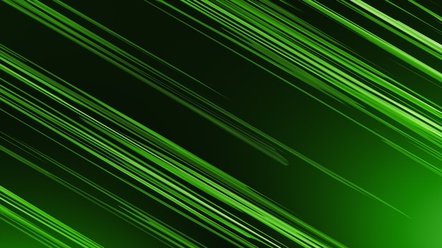 緑の背景、黄色の斜めストライプを交互にします。