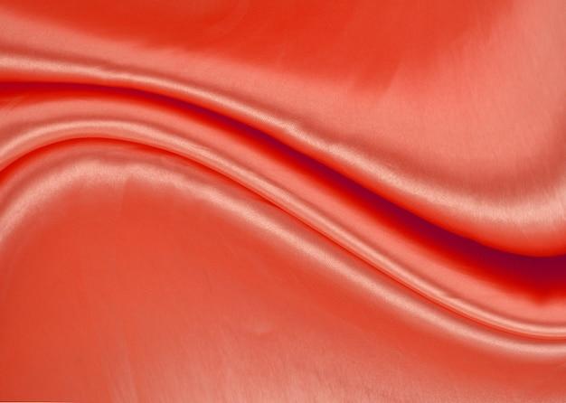 Красный фон ткани ткани