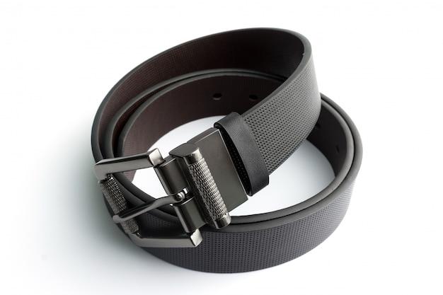 黒革ベルト