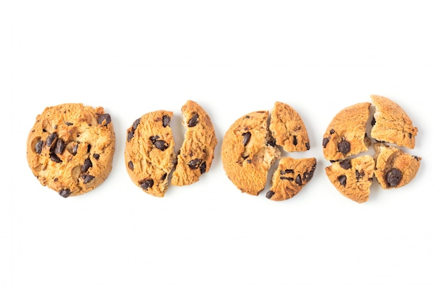 自家製の壊れたクッキー