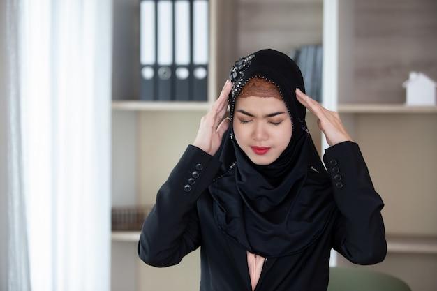 イスラム教徒の女性の肖像画