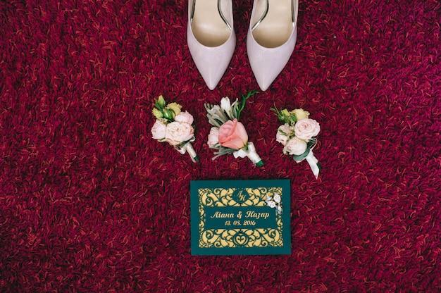 ブライダルアクセサリー:花嫁の靴
