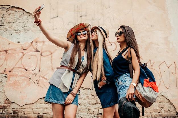 市内のファッション友達