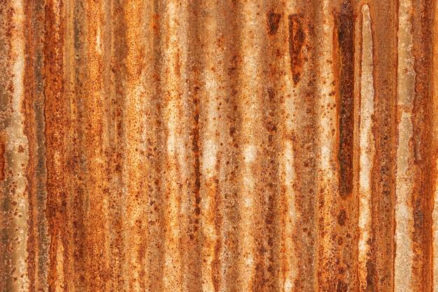 亜鉛メッキ鉄板の金属グランジテクスチャ