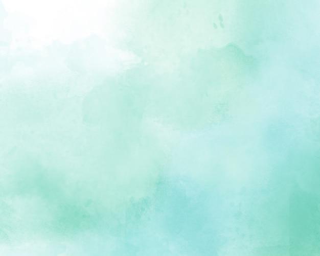 青の抽象的な水彩画の背景
