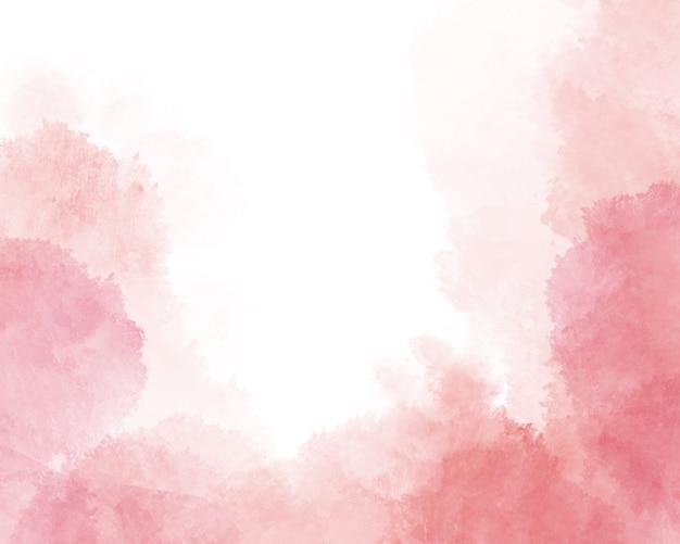 ピンクの抽象的な水彩背景