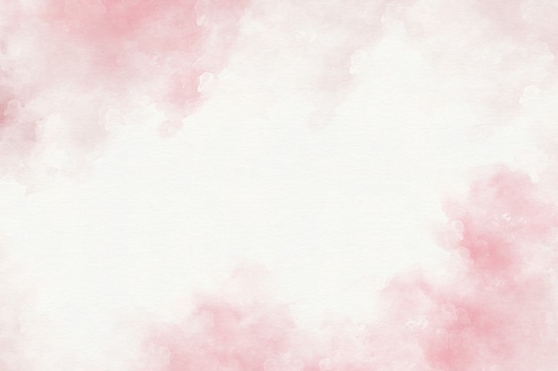 ピンクの水彩画の抽象的な背景