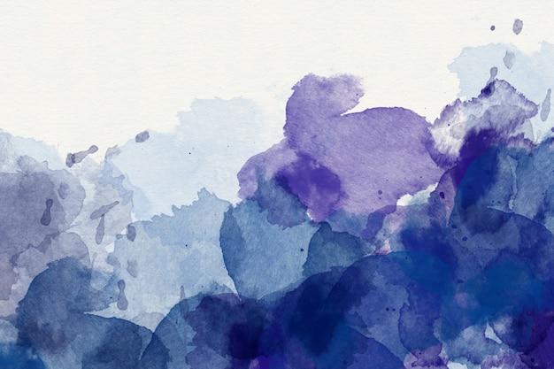 紫の抽象的な水彩画の背景