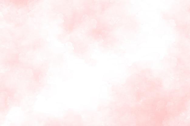 ピンクの抽象的な水彩画の背景